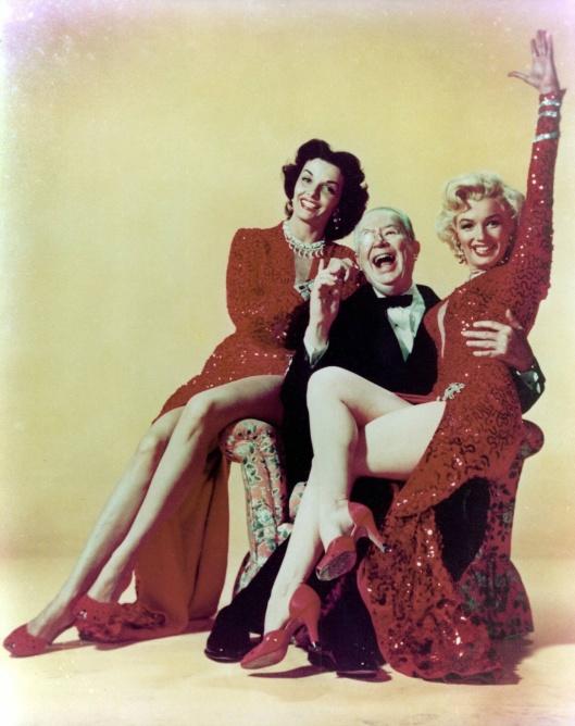 Marilyn Monroe Jane Russell Charles Cuborn