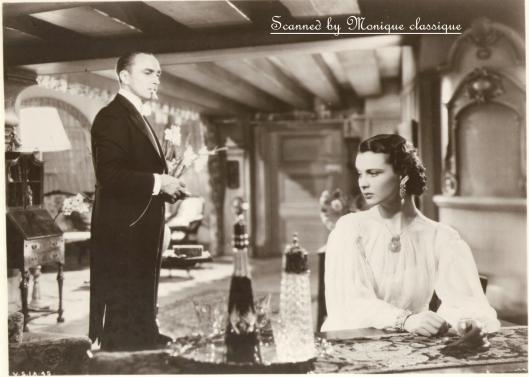 Conrad Veidt, Vivien Leigh, Dark Journey (1937)