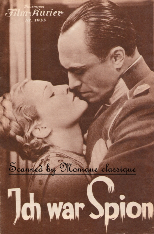 I Was a Spy (1933), Conrad Veidt, Madeleine Carroll