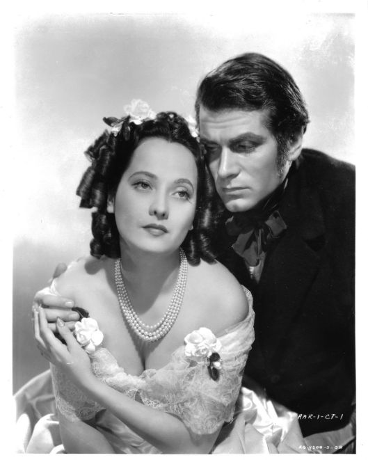 "Merle Oberon and Laurence Olivier, ""Wuthering Heights"""